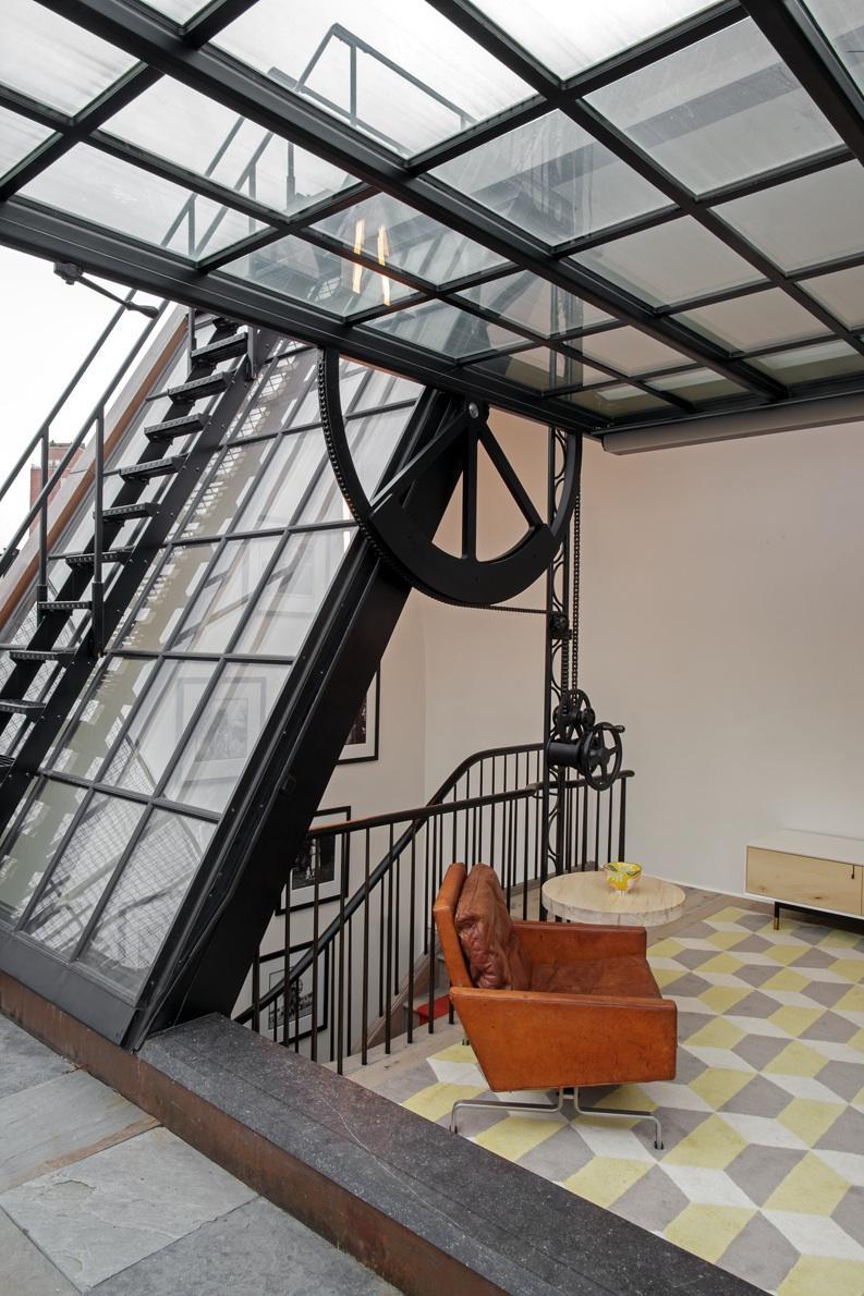 The great westvillage townhouse in new york city - Verriere dak ...