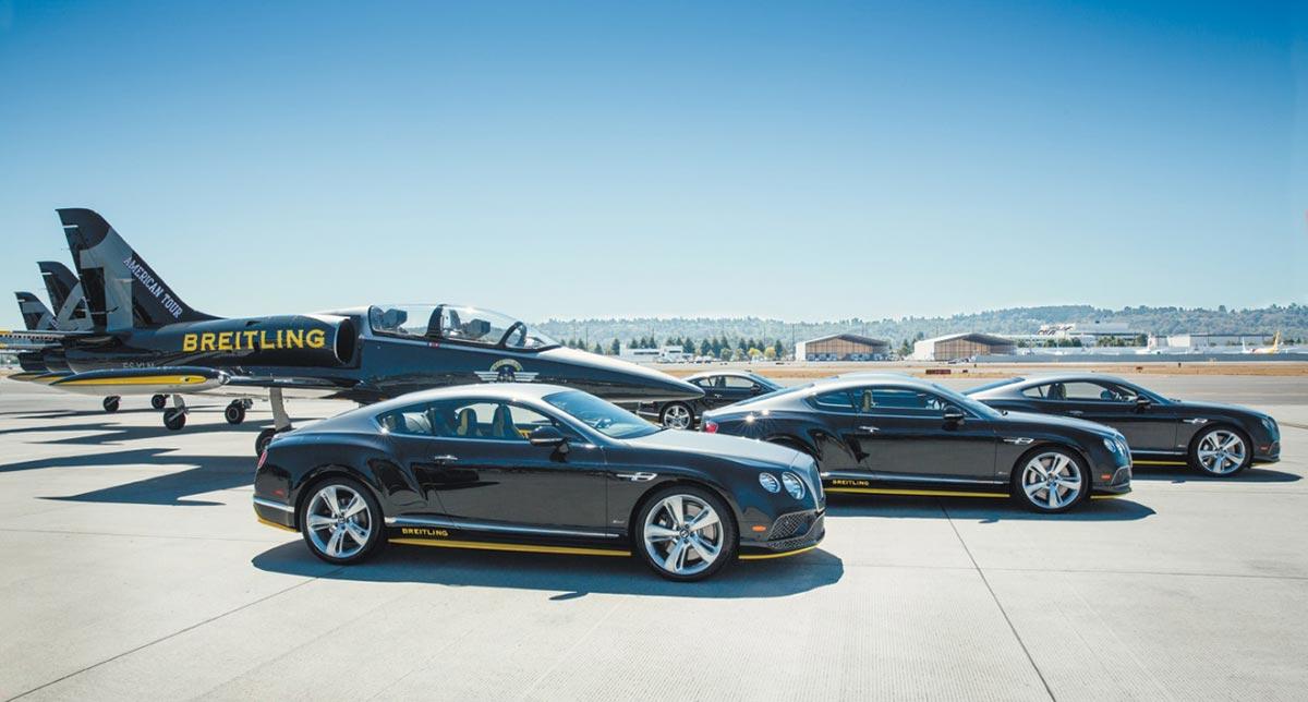 Breitling and Bentley Jet Team Series 3