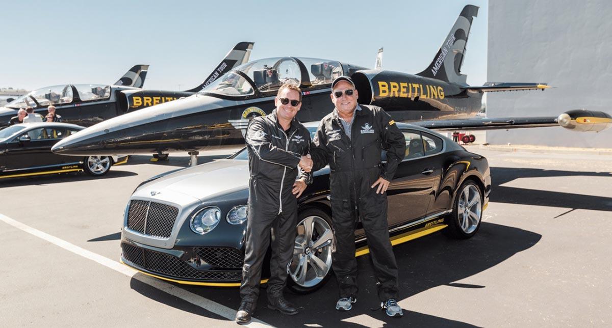 Breitling and Bentley Jet Team Series 4