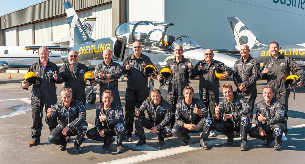 Breitling and Bentley Jet Team Series 5