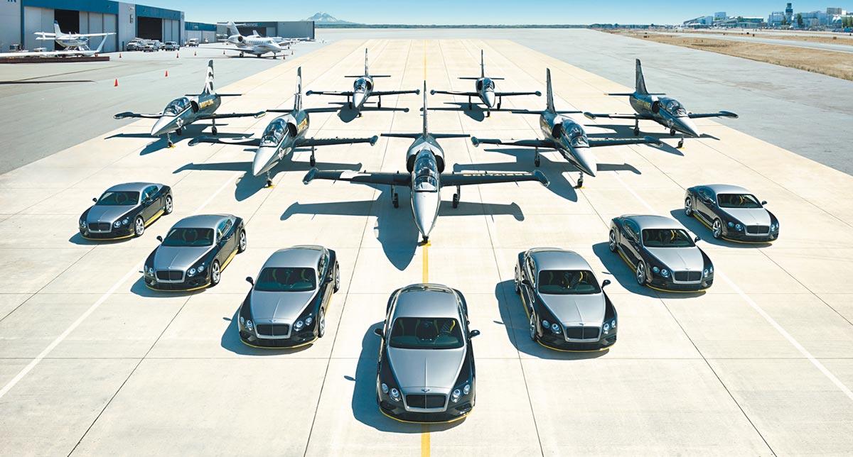 Breitling and Bentley Jet Team Series 1