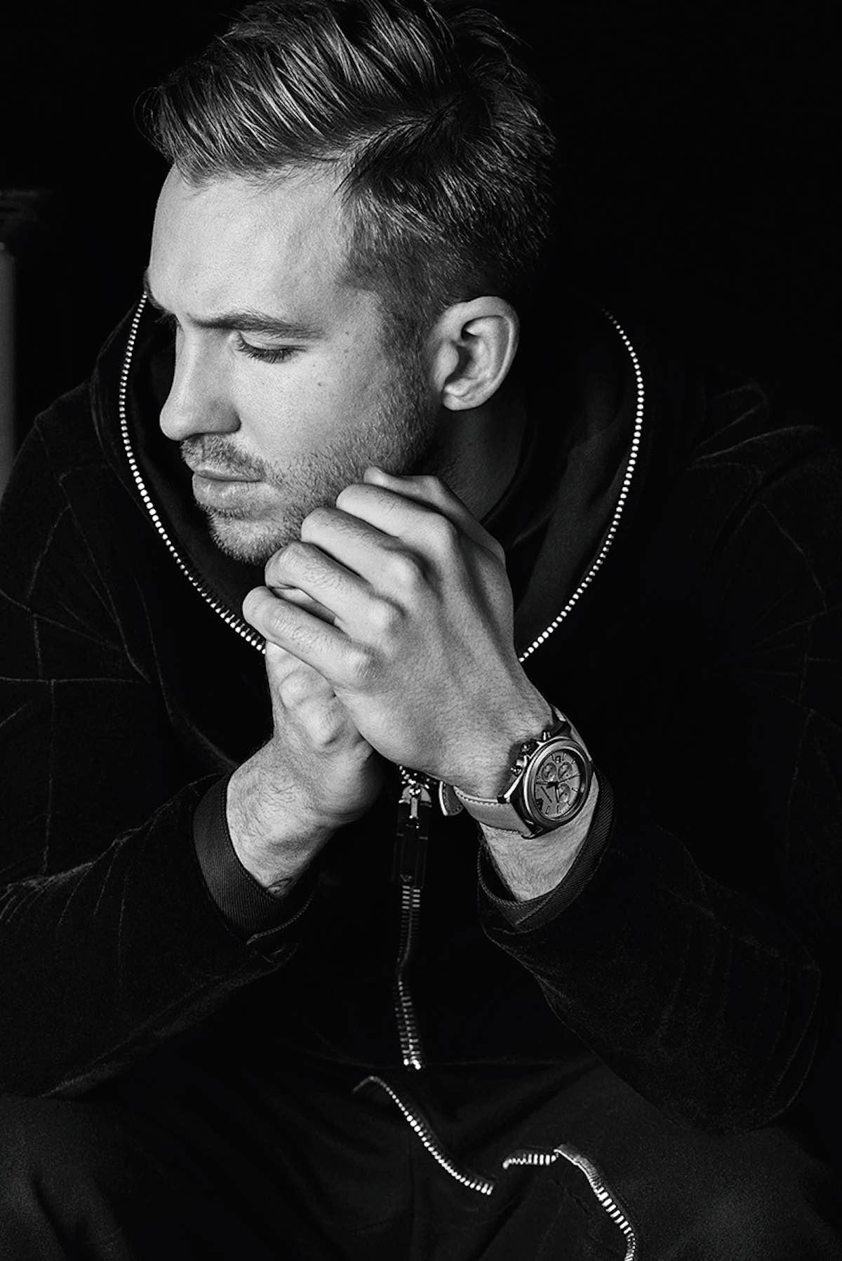 Calvin Harris und Emporio Armani 02
