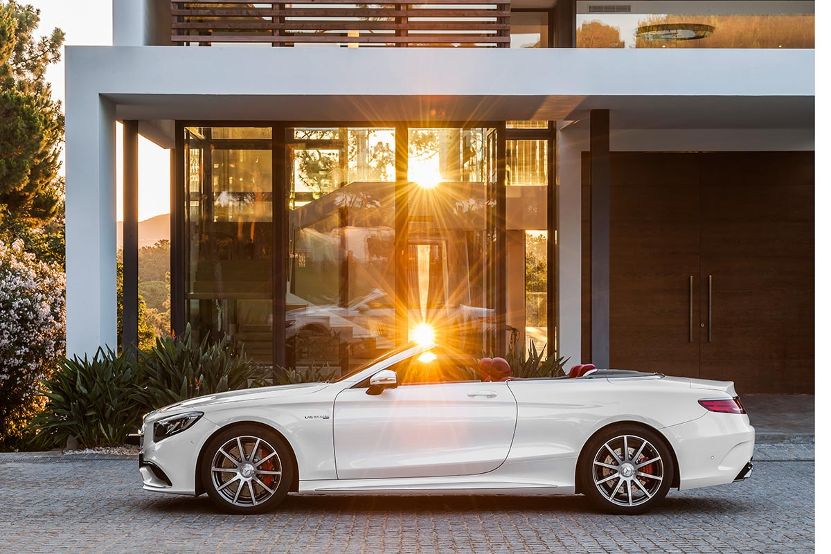 The new Mercedes-Benz S-Class Cabriolet 2