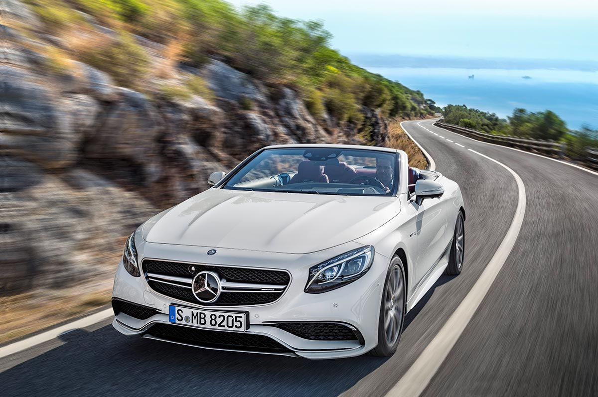 The new Mercedes-Benz S-Class Cabriolet 4