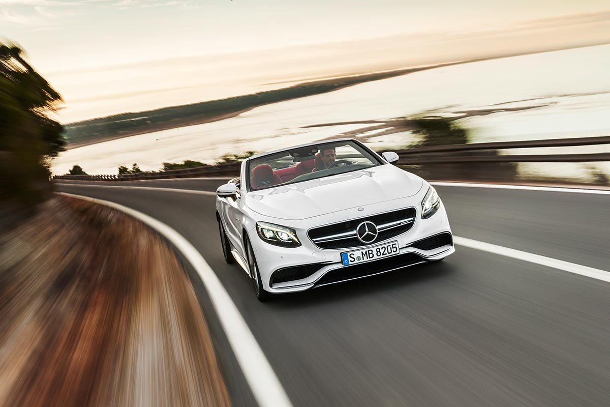 The new Mercedes-Benz S-Class Cabriolet 5