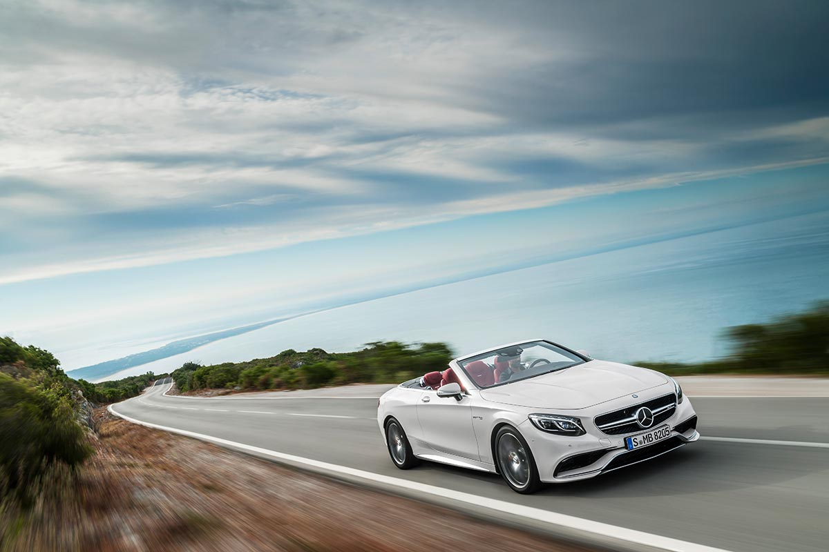 The new Mercedes-Benz S-Class Cabriolet 6