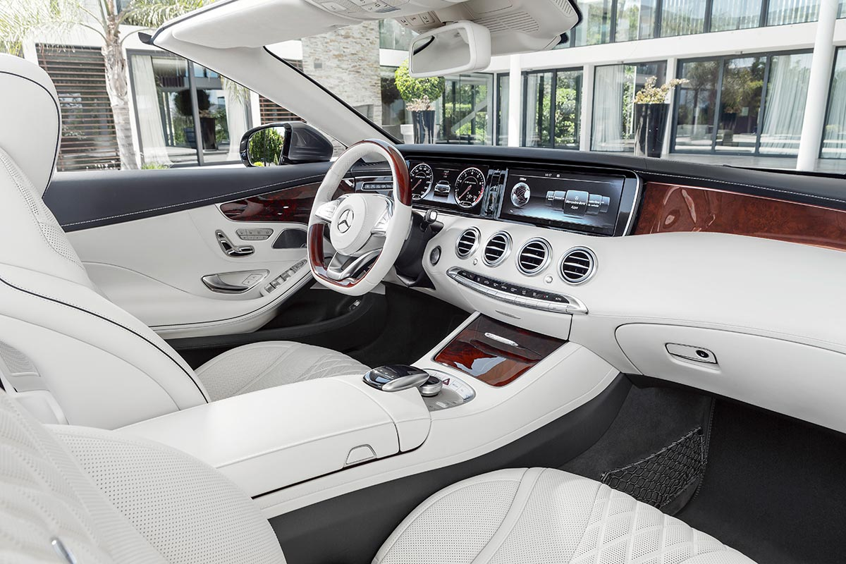 The new Mercedes-Benz S-Class Cabriolet 8