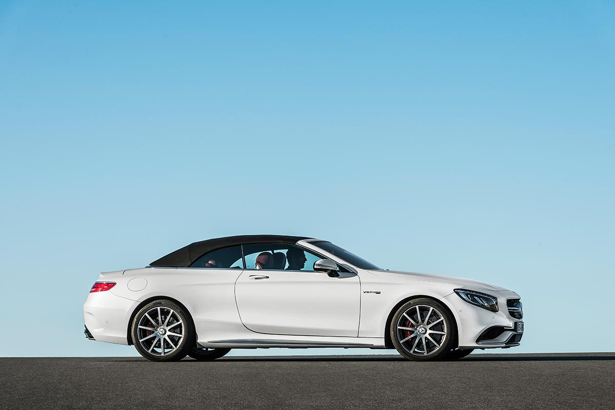 The new Mercedes-Benz S-Class Cabriolet 9