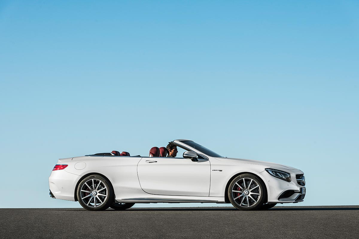 The new Mercedes-Benz S-Class Cabriolet 10