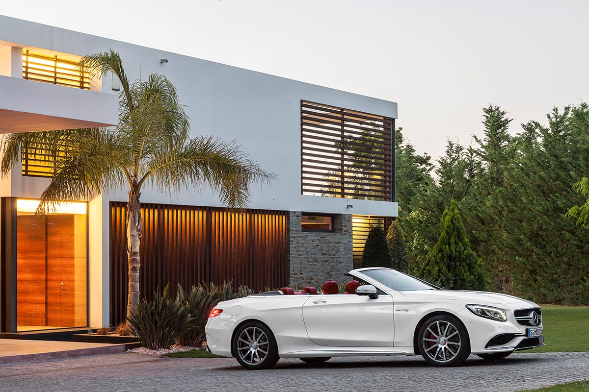 The new Mercedes-Benz S-Class Cabriolet 1