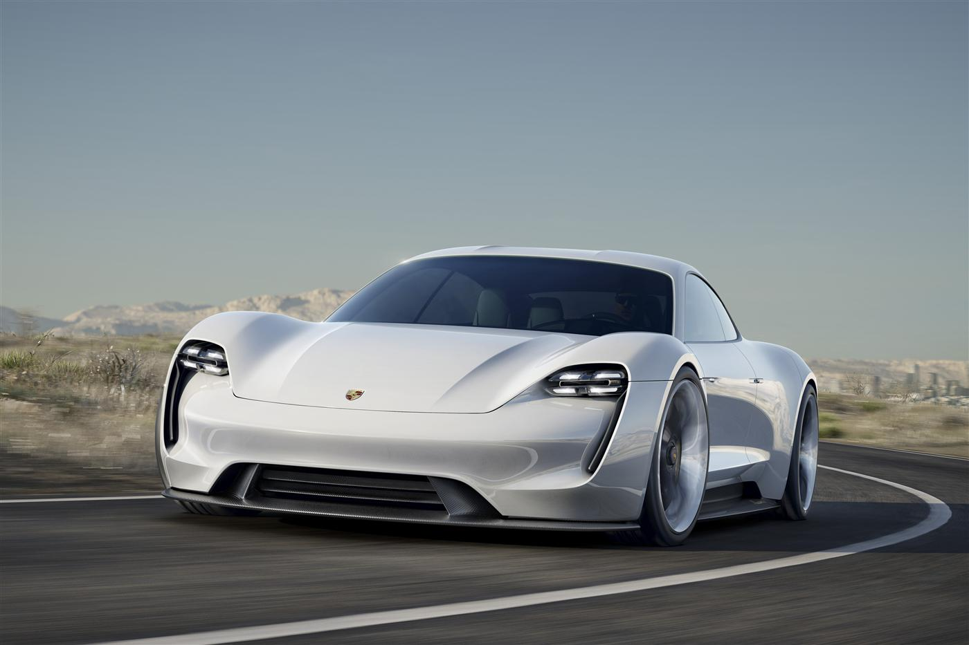 The Mission E: Porsche takes on Tesla 1