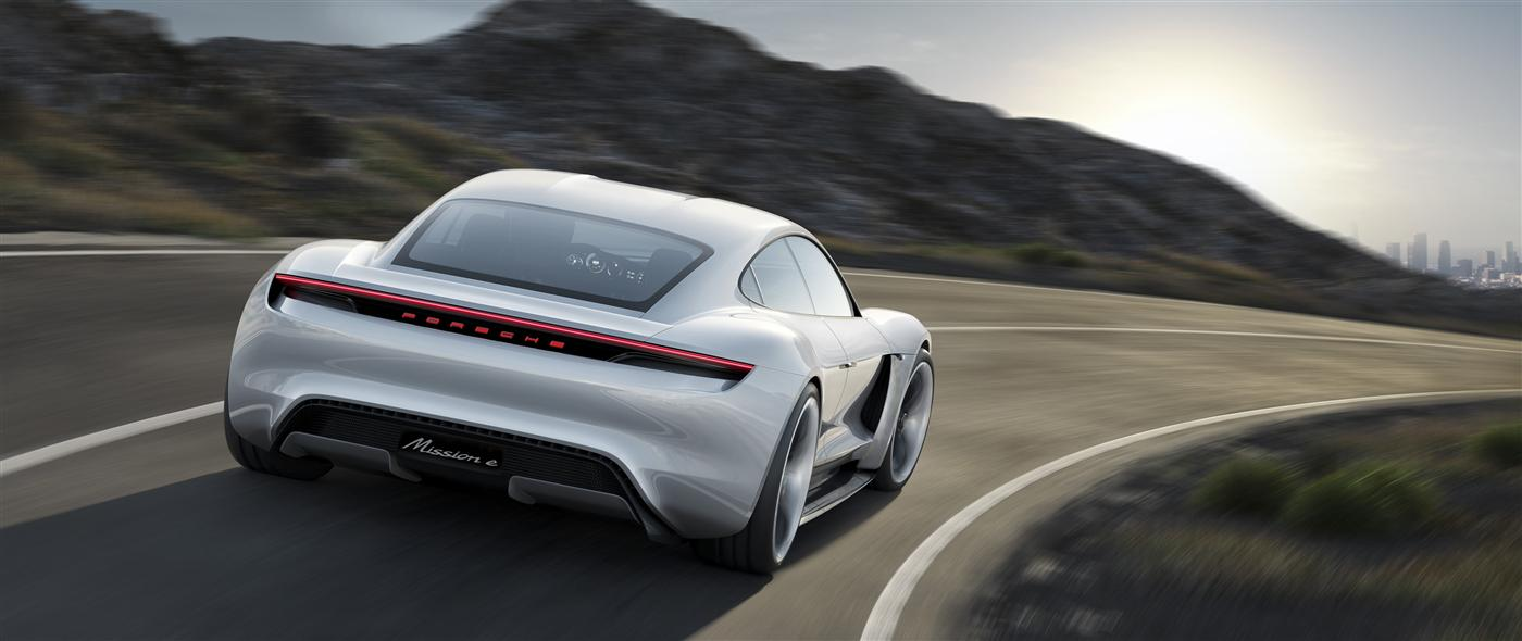 The Mission E: Porsche takes on Tesla 2