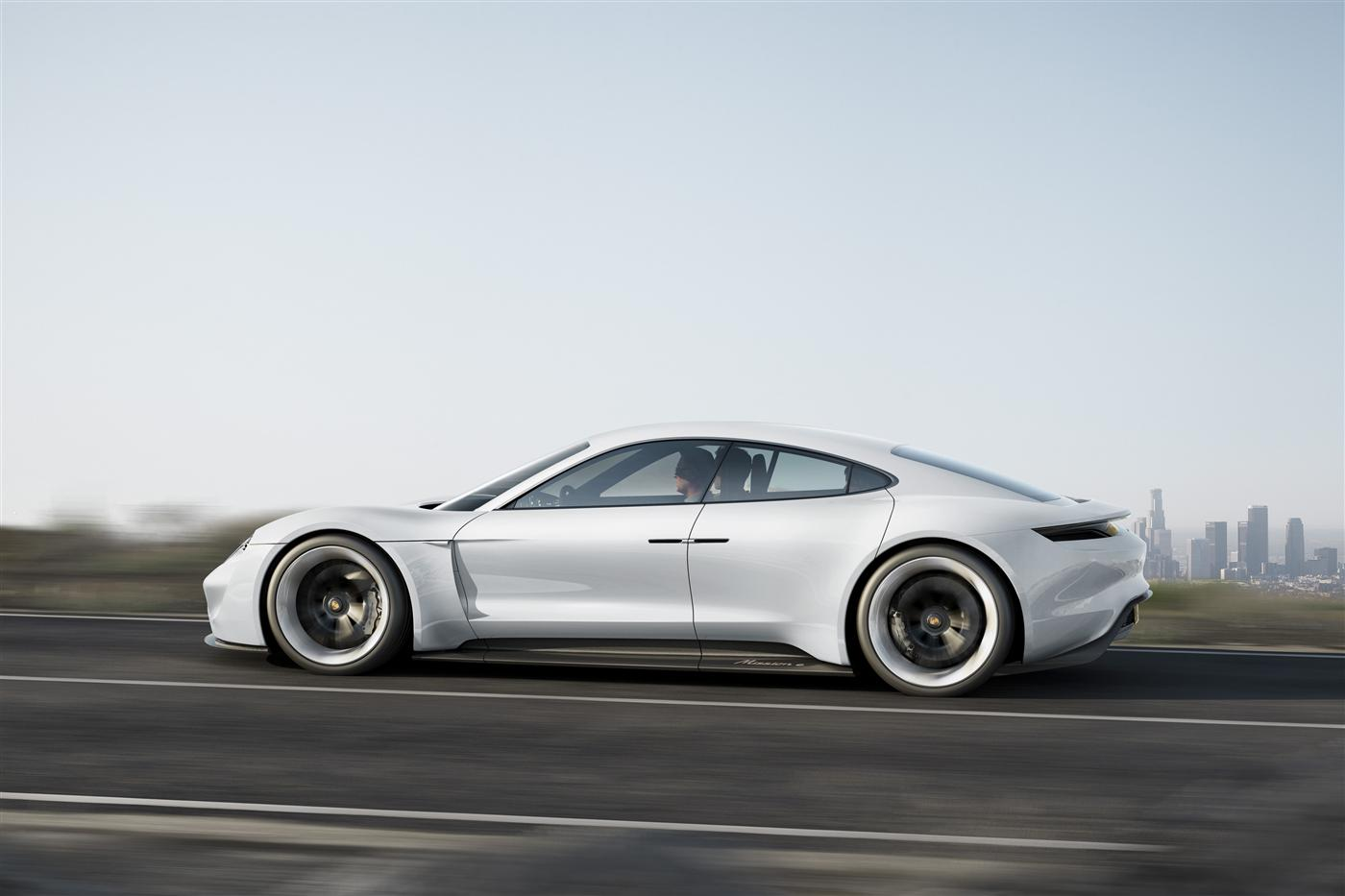 The Mission E: Porsche takes on Tesla 3
