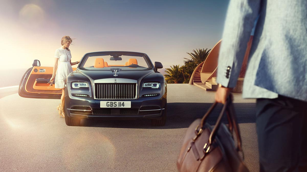 Homage to a life on the Côte d'Azur: The New Rolls-Royce Dawn 2