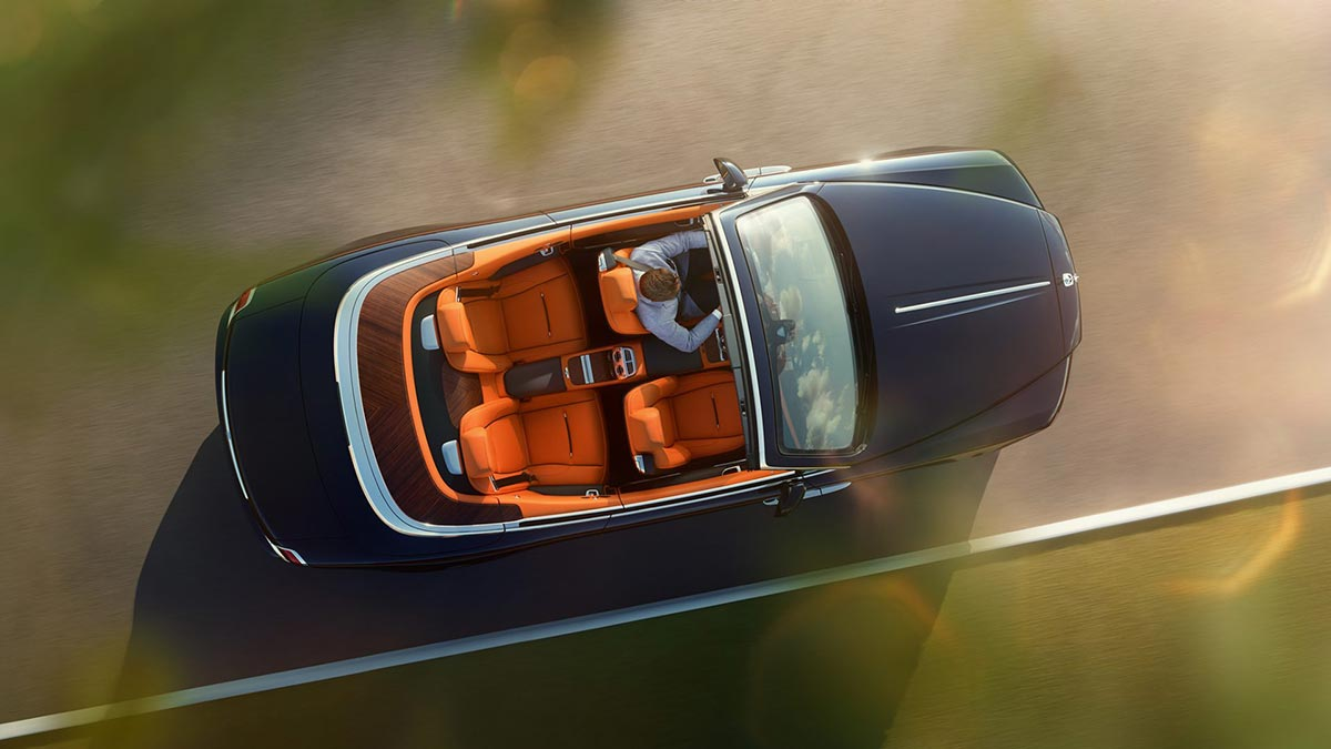 Homage to a life on the Côte d'Azur: The New Rolls-Royce Dawn 3