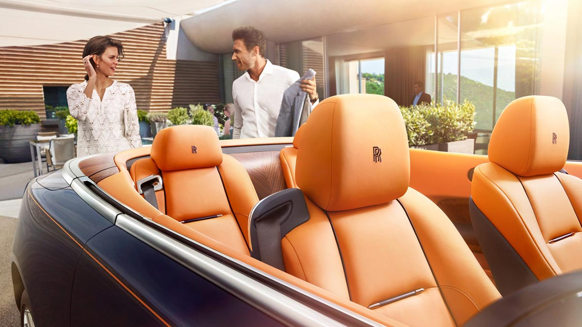 Homage to a life on the Côte d'Azur: The New Rolls-Royce Dawn 4