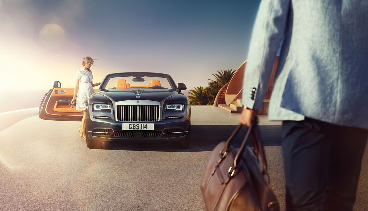 Homage to a life on the Côte d'Azur: The New Rolls-Royce Dawn 5