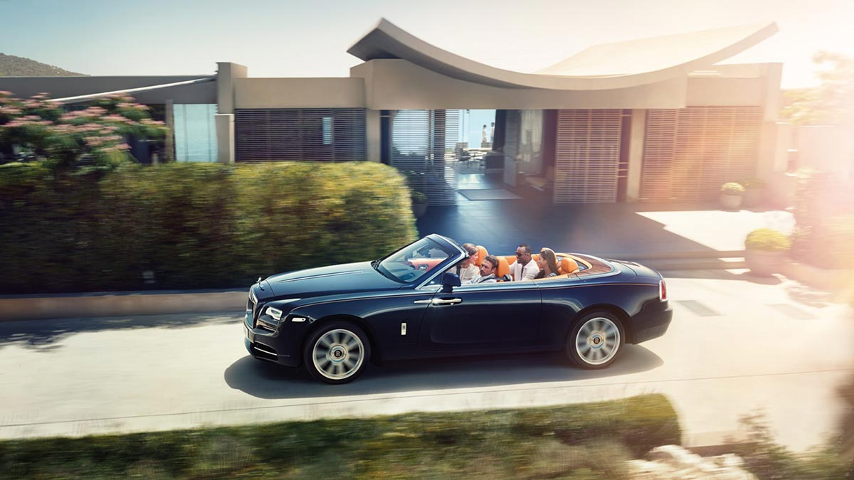 Homage to a life on the Côte d'Azur: The New Rolls-Royce Dawn 6