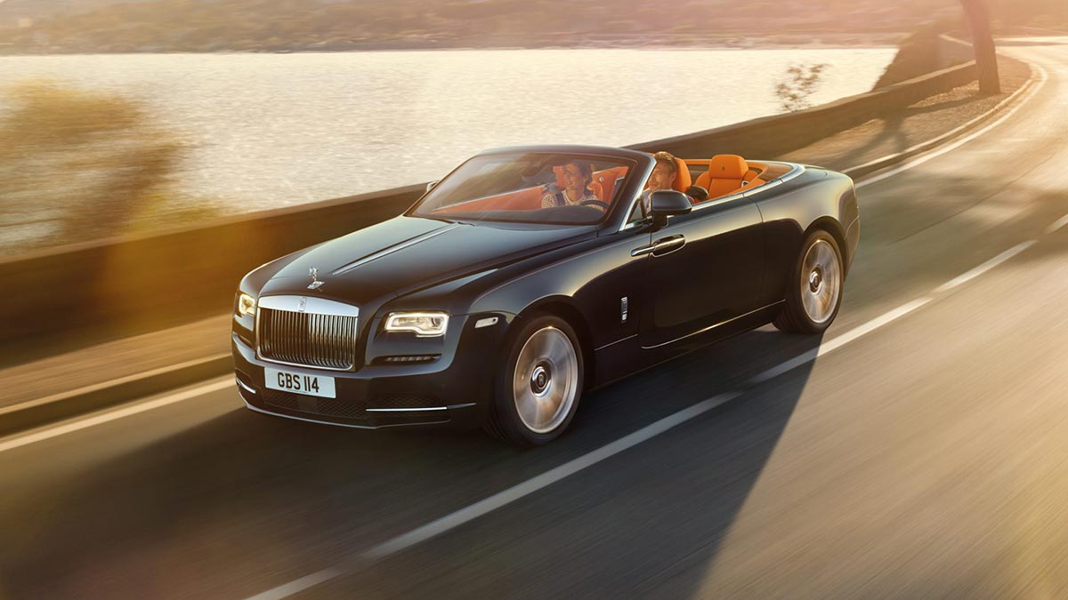 Homage to a life on the Côte d'Azur: The New Rolls-Royce Dawn 7