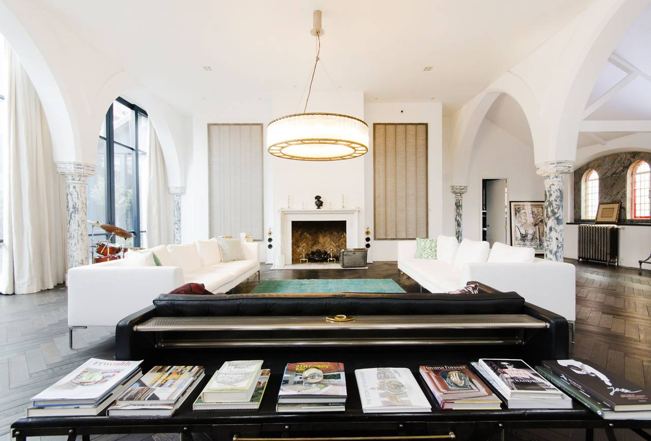 A massive London Church is transformed into a Luxury Home 4