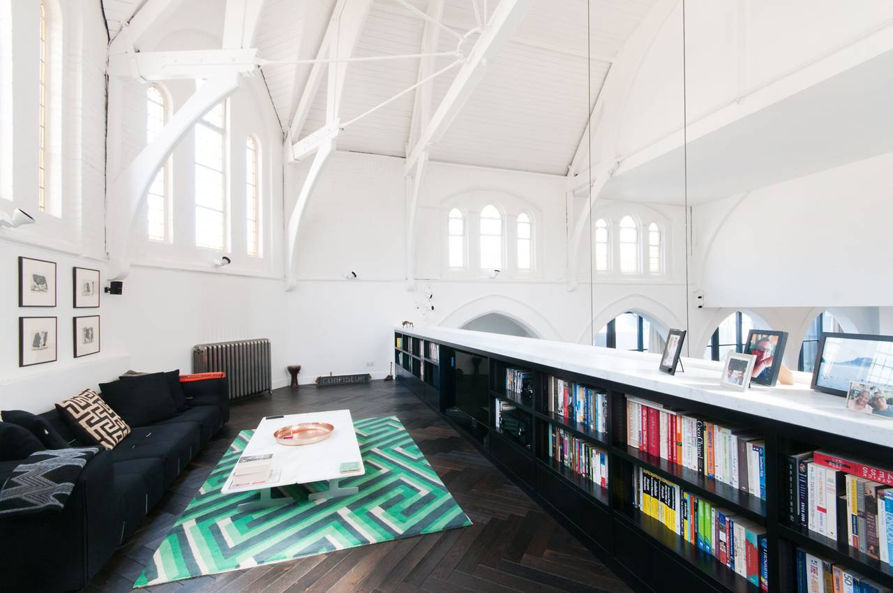 A massive London Church is transformed into a Luxury Home 10