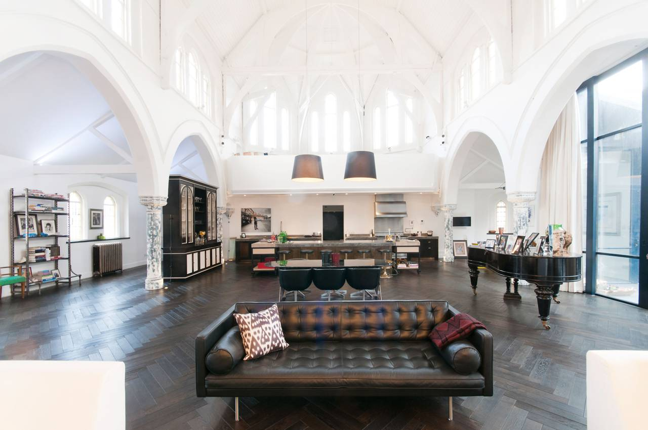 A massive London Church is transformed into a Luxury Home 1