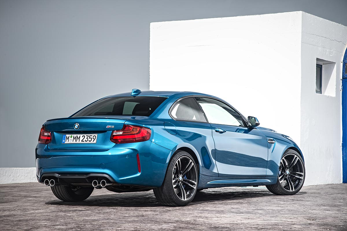 Addition to the family: The New BMW M2 Coupe 3