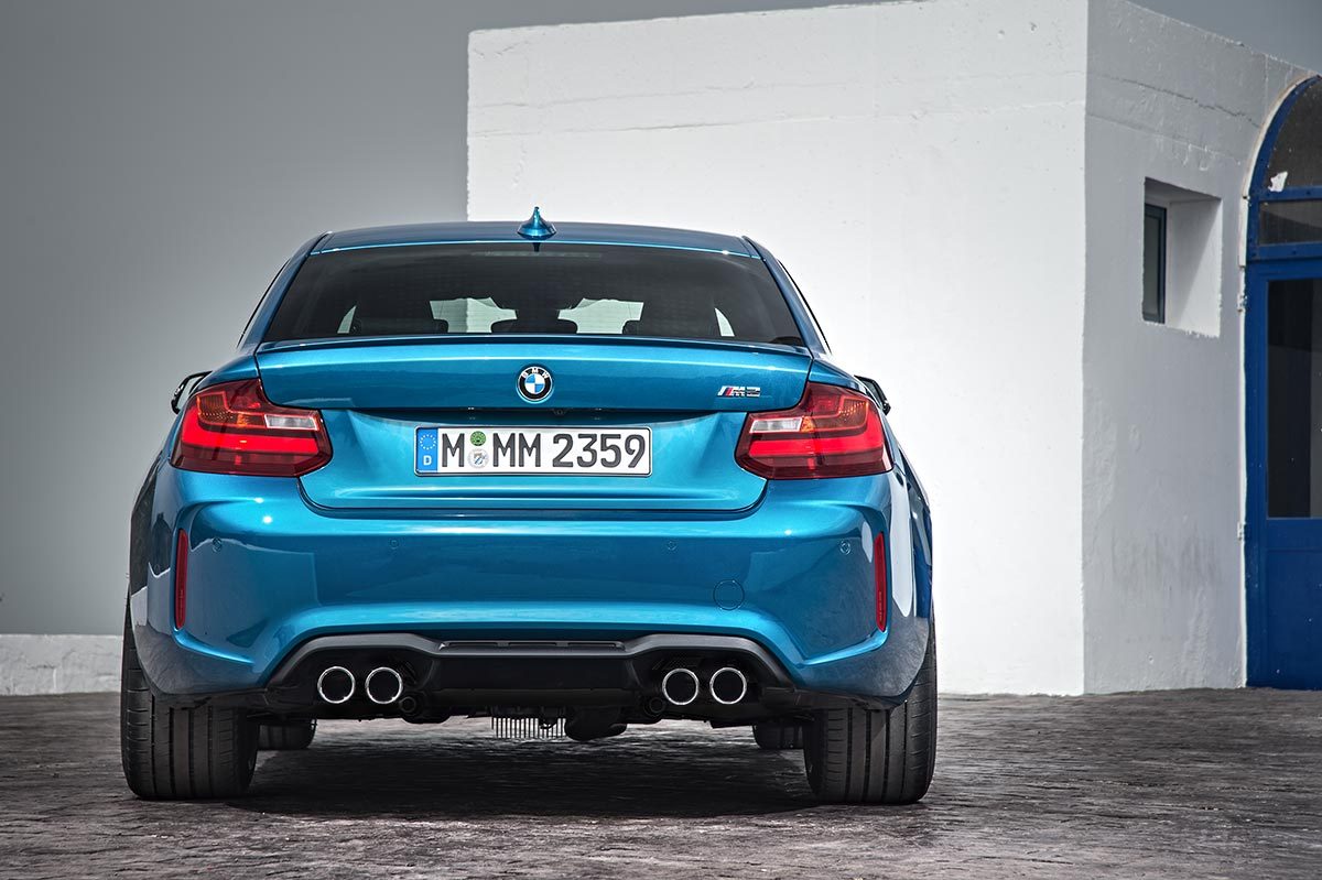 Addition to the family: The New BMW M2 Coupe 6