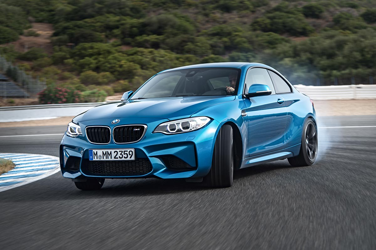 Addition to the family: The New BMW M2 Coupe 7