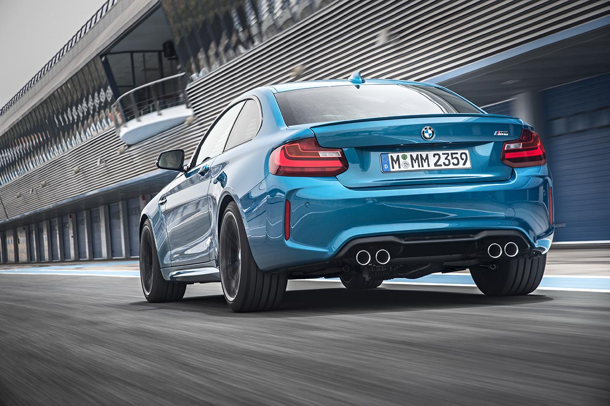 Addition to the family: The New BMW M2 Coupe 8