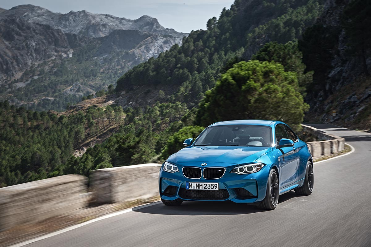 Addition to the family: The New BMW M2 Coupe 14