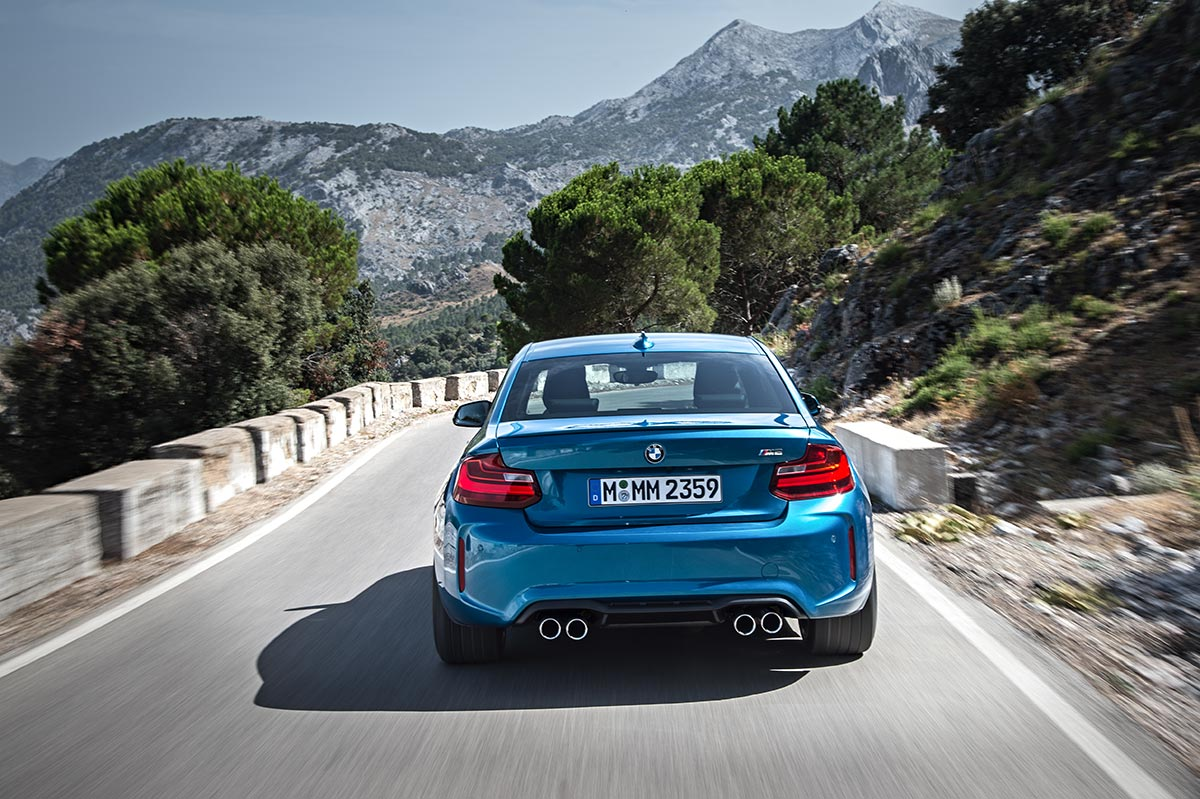 Addition to the family: The New BMW M2 Coupe 15