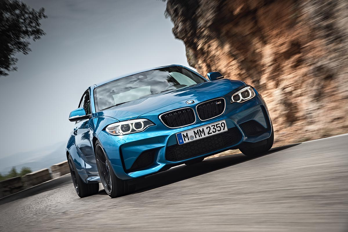 Addition to the family: The New BMW M2 Coupe 16
