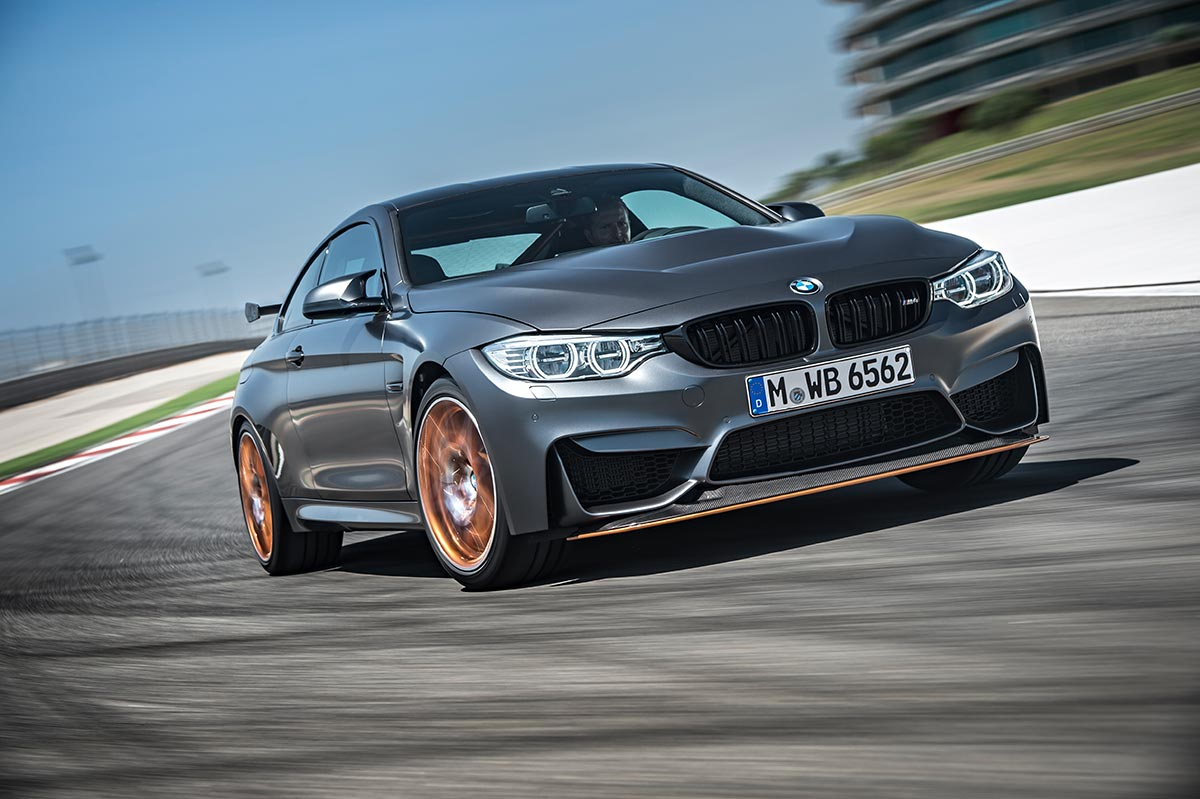 For the 30th anniversay: The new BMW M4 GTS 2