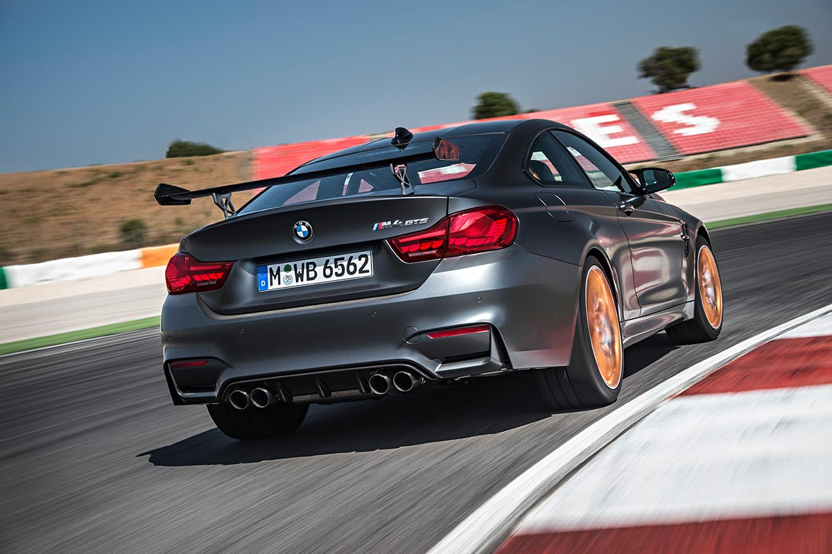 For the 30th anniversay: The new BMW M4 GTS 3