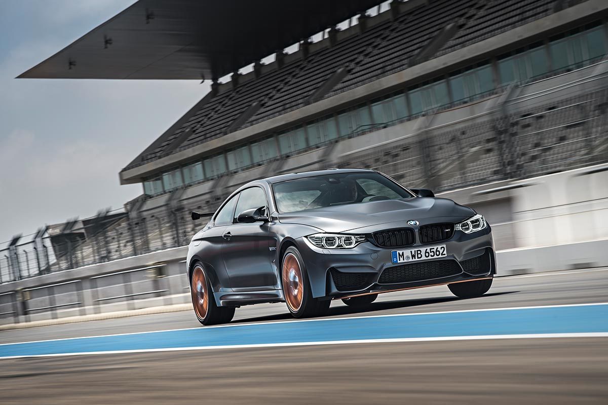 For the 30th anniversay: The new BMW M4 GTS 4