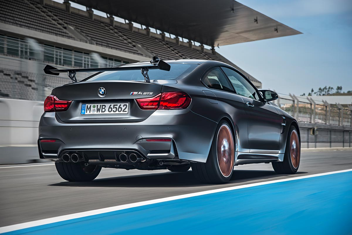 For the 30th anniversay: The new BMW M4 GTS 6