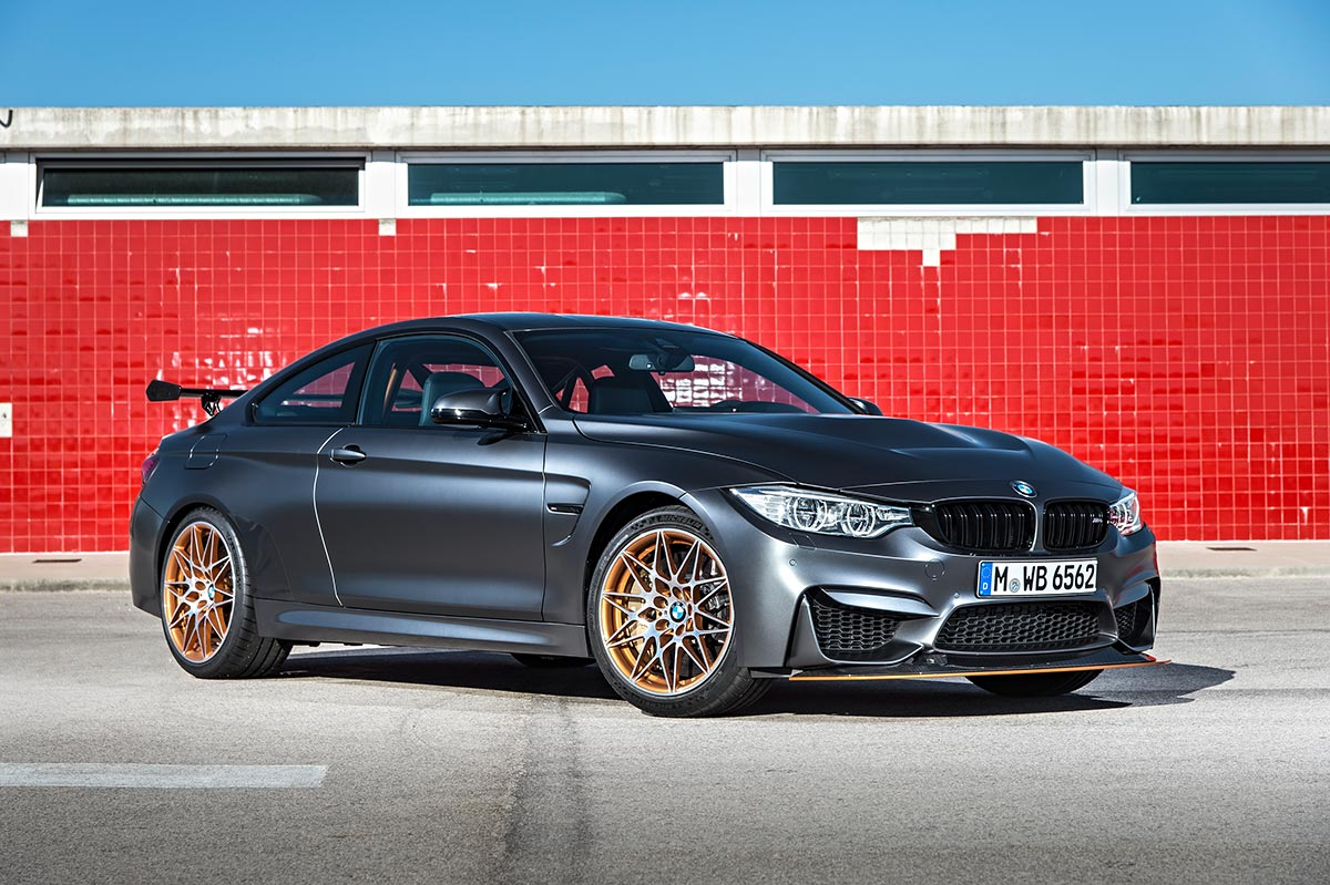 For the 30th anniversay: The new BMW M4 GTS 15
