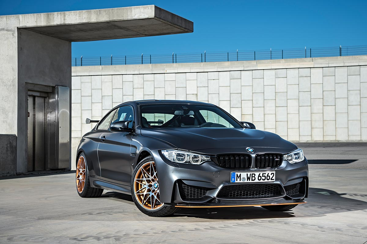 For the 30th anniversay: The new BMW M4 GTS 20