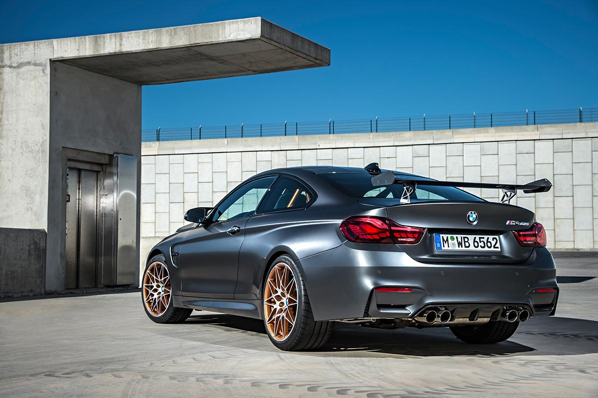 For the 30th anniversay: The new BMW M4 GTS 21