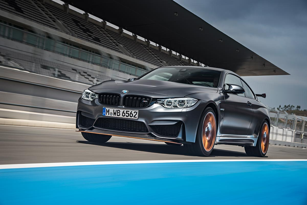 For the 30th anniversay: The new BMW M4 GTS 1