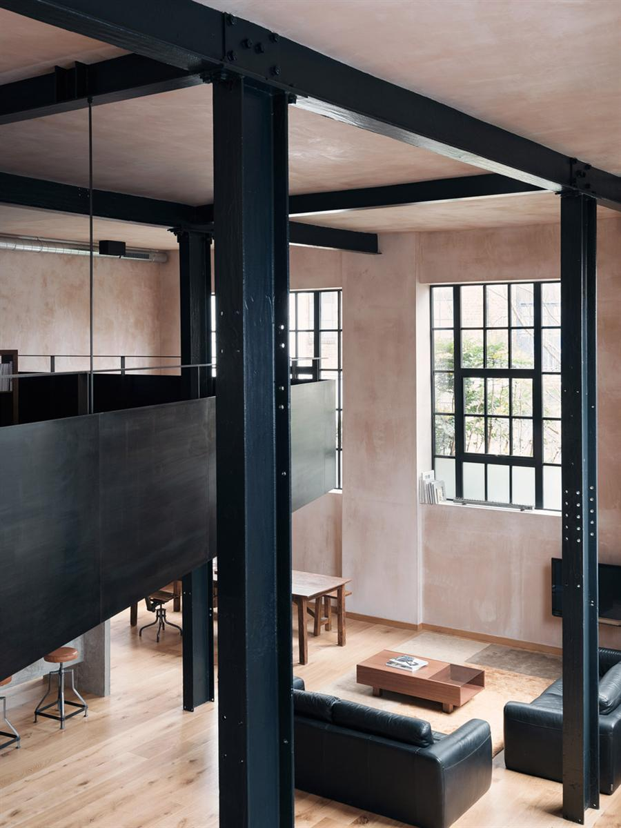 An East London Warehouse was transformed into an impressive Home 8