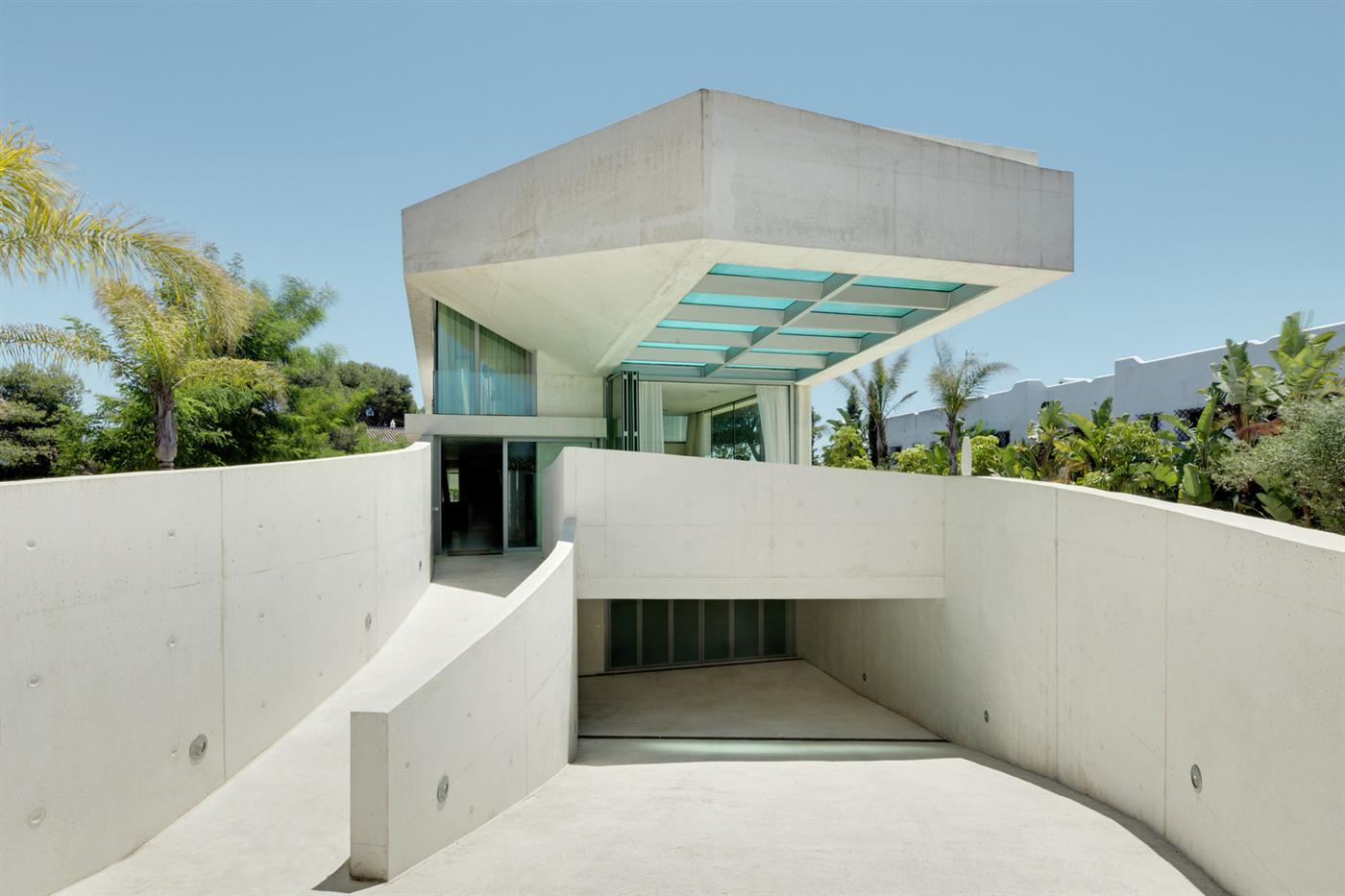 "Das ""Jellyfish House"" in Marbella 1"
