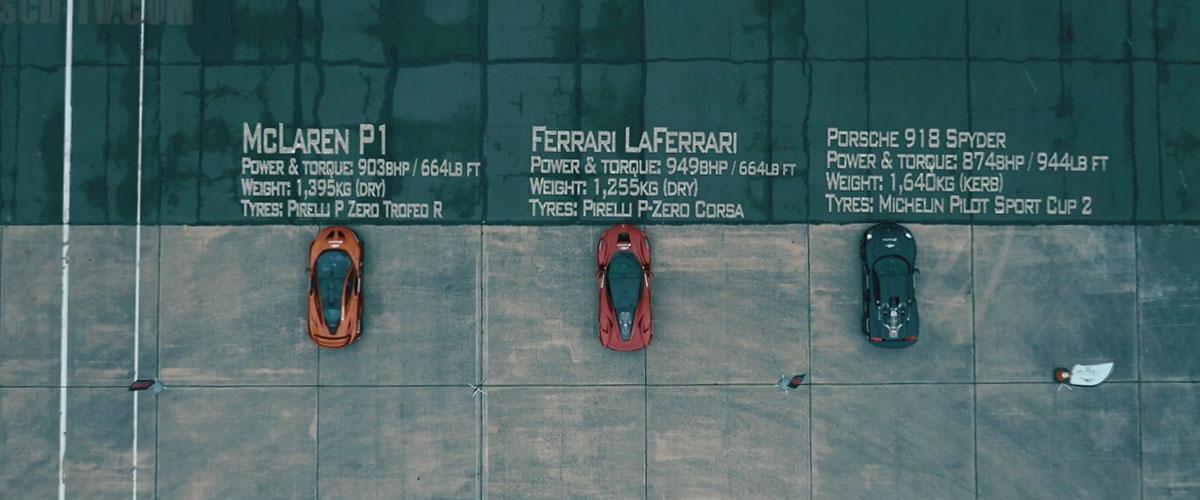 LaFerrari-P1-918-Spyder-Drag-Race-01