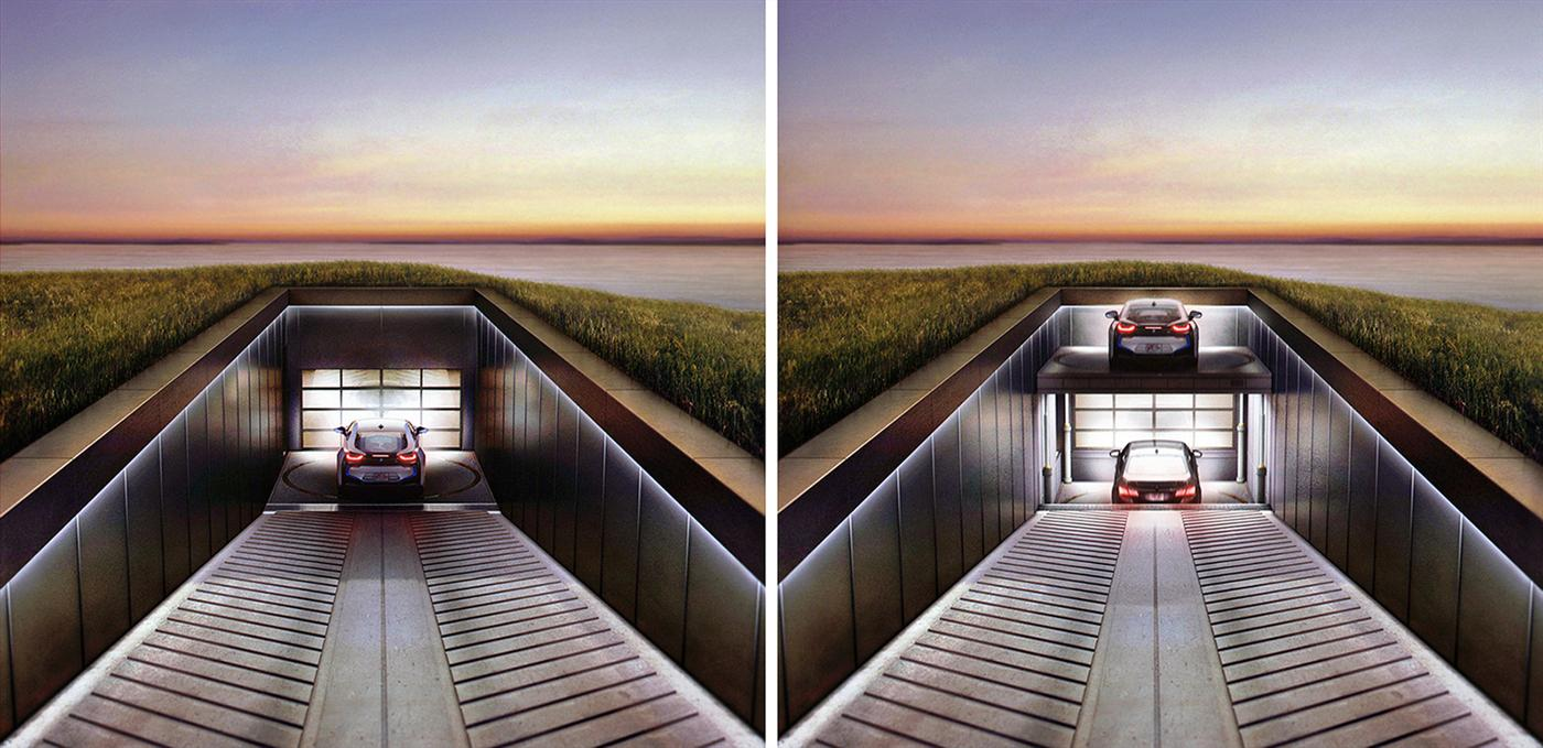 "The ""House in the Hill"" with a Seaside View for your Car 4"