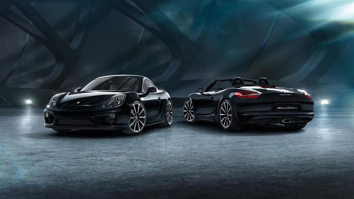 The New Porsche Cayman Black Edition 11