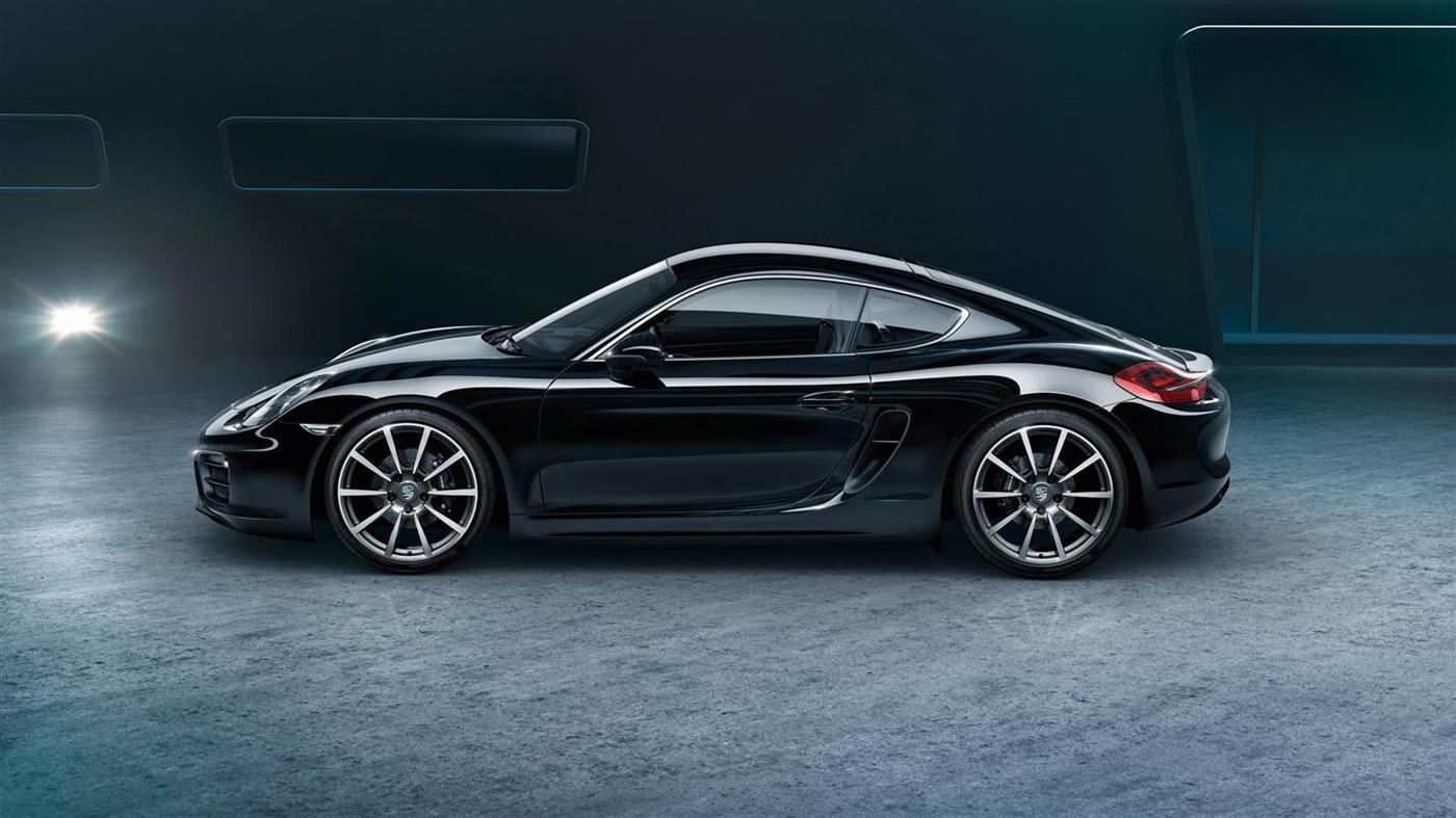 The New Porsche Cayman Black Edition Mr Goodlife