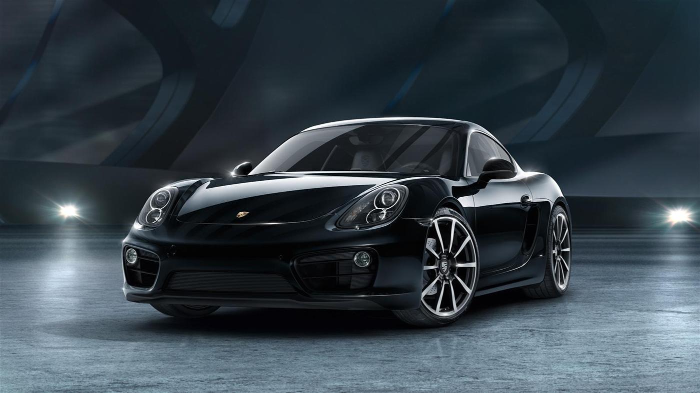 The New Porsche Cayman Black Edition 1