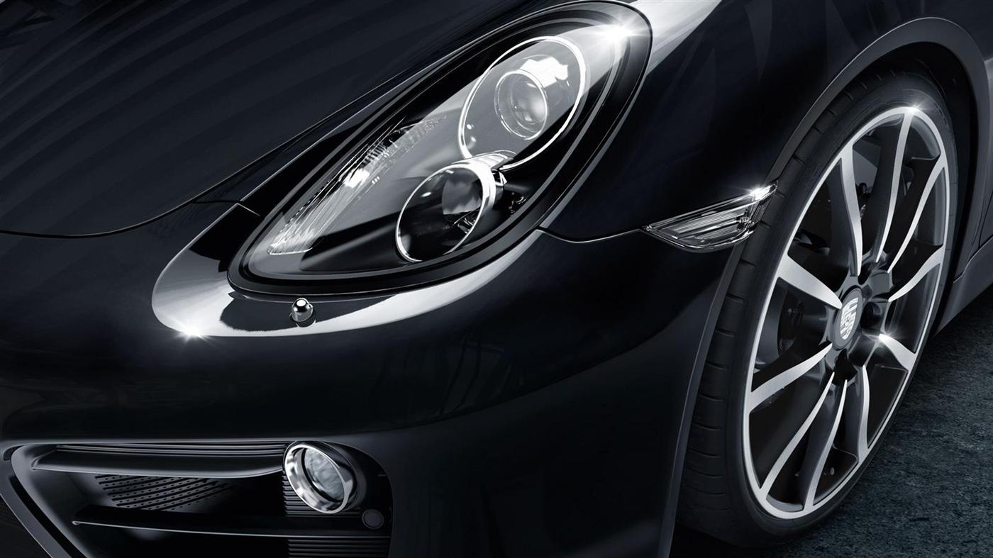 The New Porsche Cayman Black Edition 10
