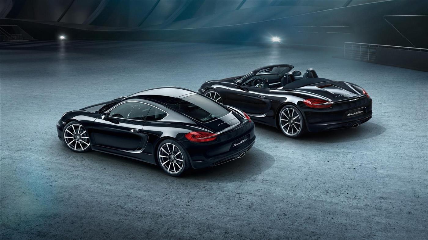 The New Porsche Cayman Black Edition 9